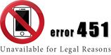 451 「法的な理由で利用できません」